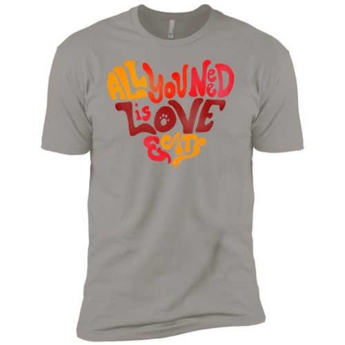 All You Need Is Love & Cats Premium Tee