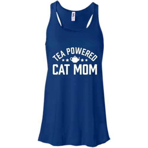 Tea Powered Mom Flowy Tank