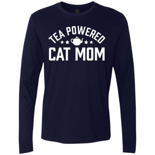 Tea Powered Mom Premium Long Sleeve Tee
