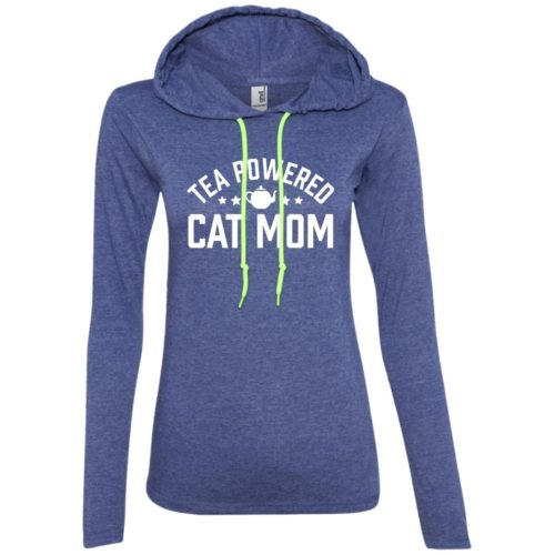 Tea Powered Mom Fitted T-Shirt Hoodie