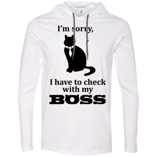 Check With Boss T-Shirt Hoodie