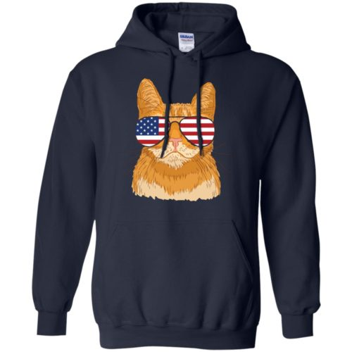 Cool Cat USA Pullover Hoodie