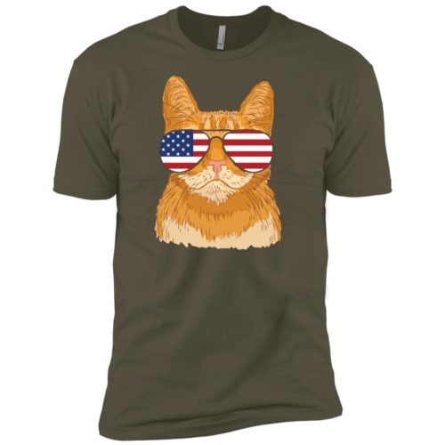 Cool Cat USA Premium Tee