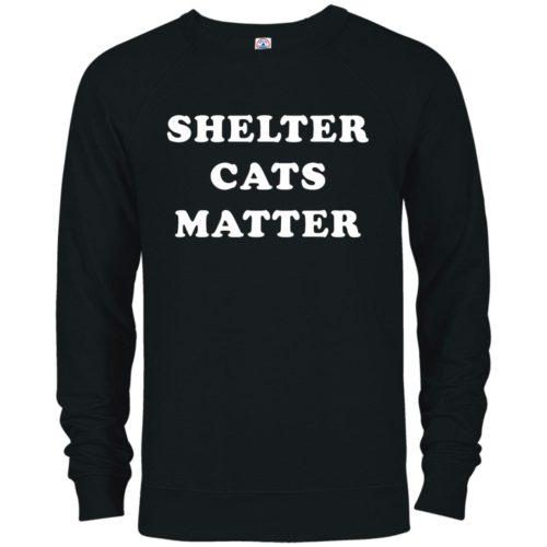 Shelter Cats Matter Premium Crew Neck Sweatshirt