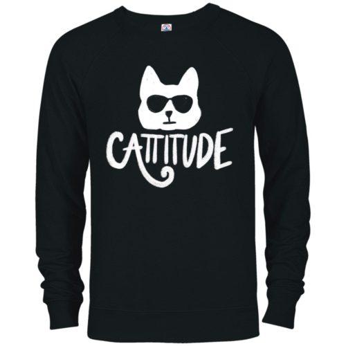 Cattitude Premium Crew Neck Sweatshirt
