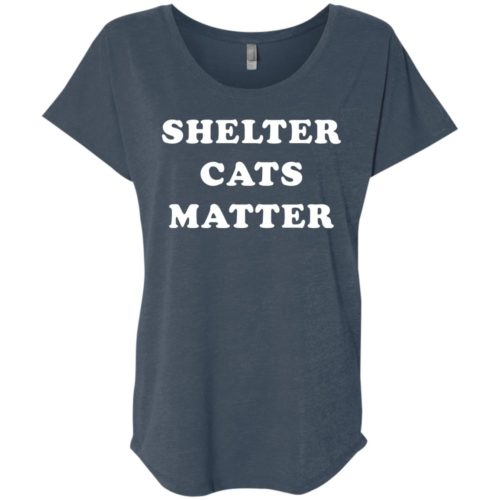 Shelter Cats Matter Slouchy Tee