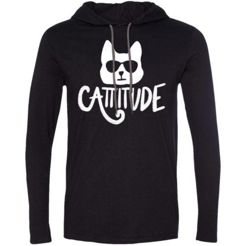 Cattitude T-Shirt Hoodie