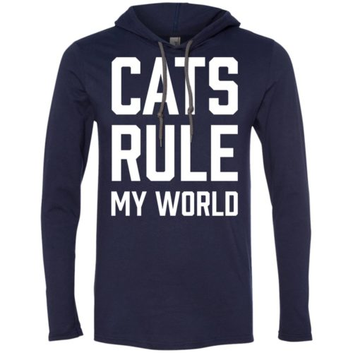 Cats Rule My World T-Shirt Hoodie