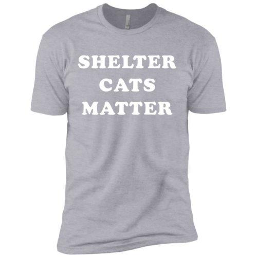 Shelter Cats Matter Premium Tee