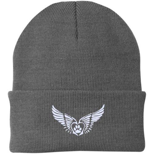 Second Chance Logo Embroidered Knit Cap