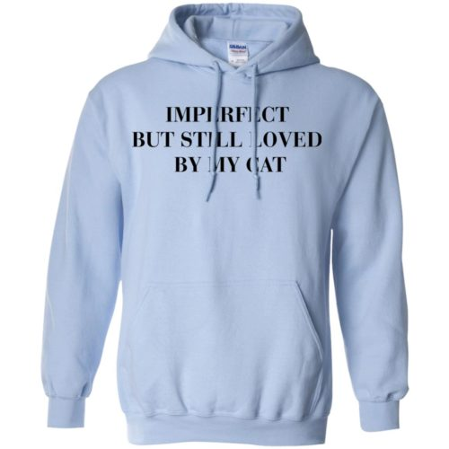 Imperfect Cat Pullover Hoodie