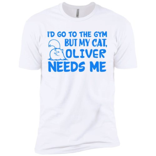 Go To The Gym Personalized Premium T-Shirt