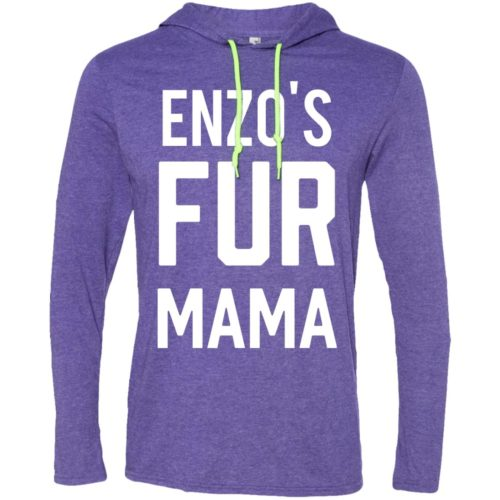 Fur Mama Personalized Lightweight T-Shirt Hoodie