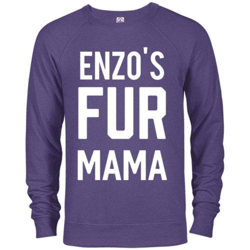 Fur Mama Personalized Premium Crew Neck Sweatshirt