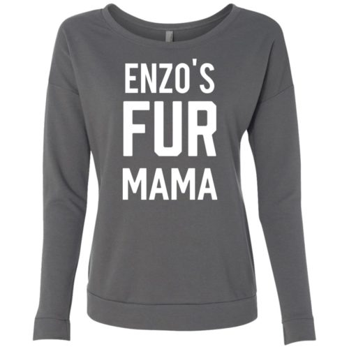 Fur Mama Personalized Ladies' Scoop Neck Sweatshirt