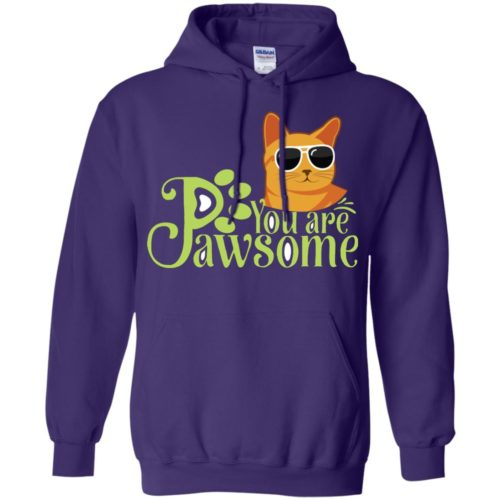 You Are Pawsome Pullover Hoodie
