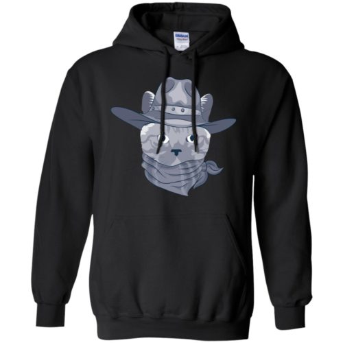 Stylish Cat Pullover Hoodie
