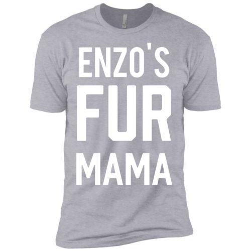 Fur Mama Personalized Premium T-Shirt