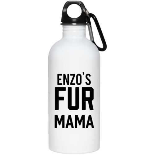 Fur Mama Personalized Stainless Steel Water Bottle