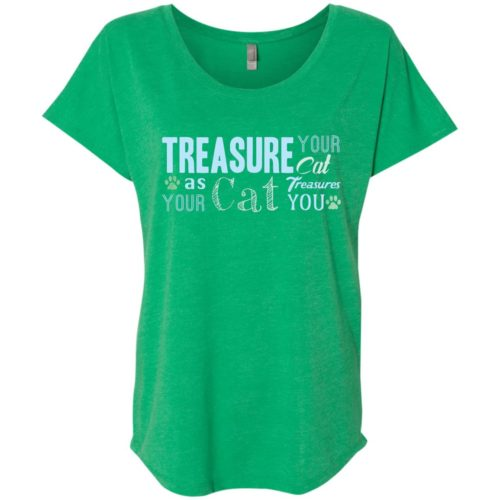 Treasure Your Cat Slouchy Tee
