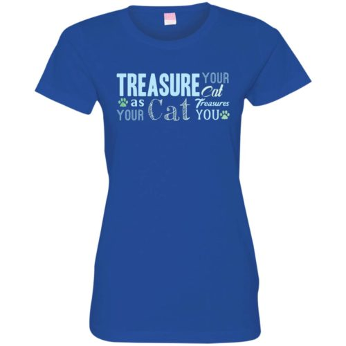 Treasure Your Cat Fitted Tee