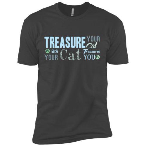 Treasure Your Cat Premium Tee