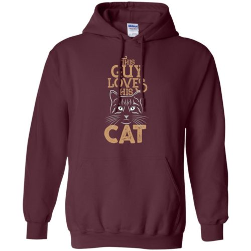 When My Cat Pullover Hoodie