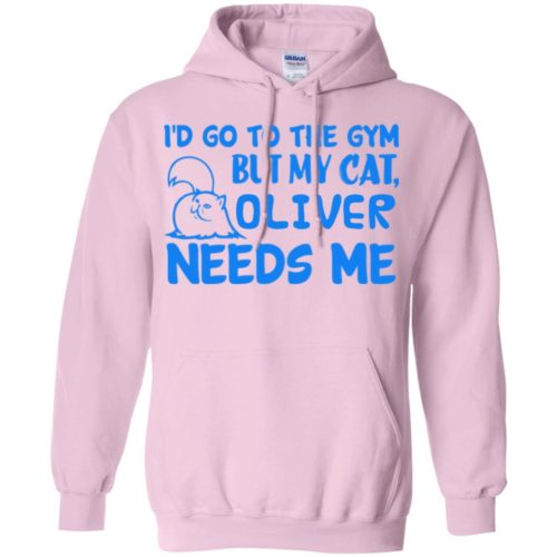 Go To The Gym Personalized Pullover Hoodie