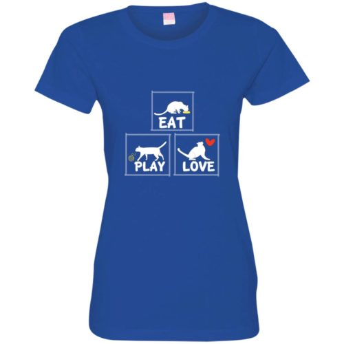 Eat Play Love Fitted Tee