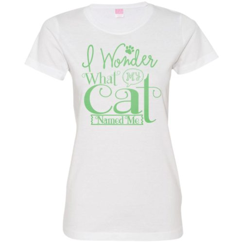 I Wonder Fitted Tee
