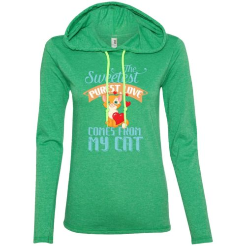 The Sweetest Fitted T-Shirt Hoodie