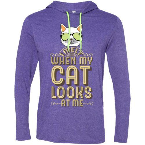 When My Cat T-Shirt Hoodie