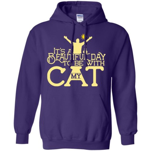 It's A Beautiful Day Pullover Hoodie