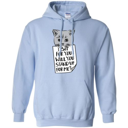 I Sit For You Pullover Hoodie