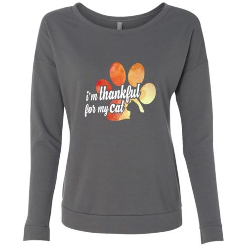 I'm Thankful Scoop Neck Sweatshirt