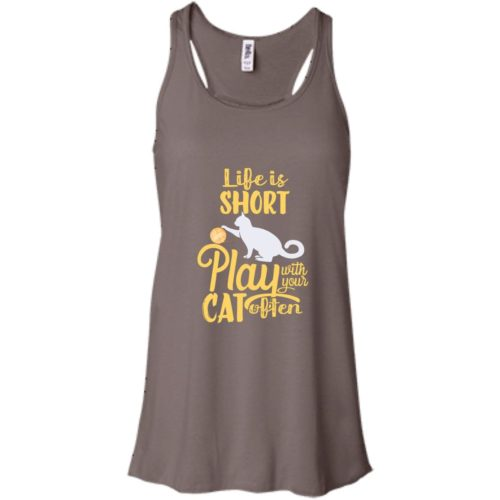 Life Is Short Bella Fashion Tank