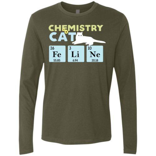 Chemistry Cat Premium Long Sleeve Tee