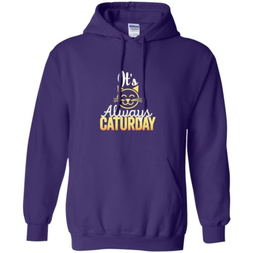 Caturday Pullover Hoodie