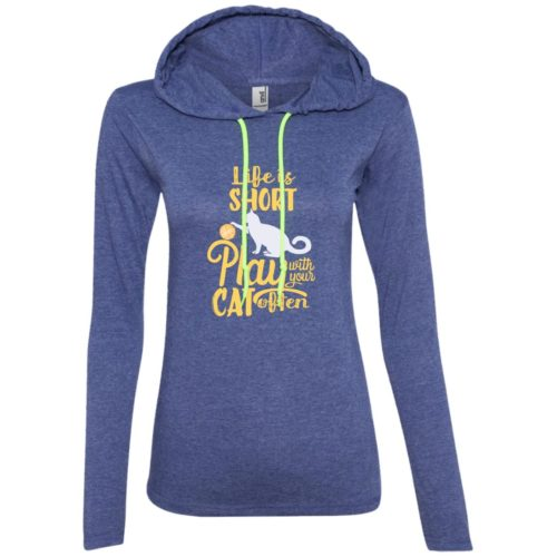 Life Is Short Fitted T-Shirt Hoodie