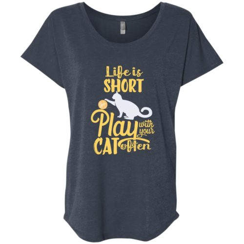 Life Is Short Slouchy Tee