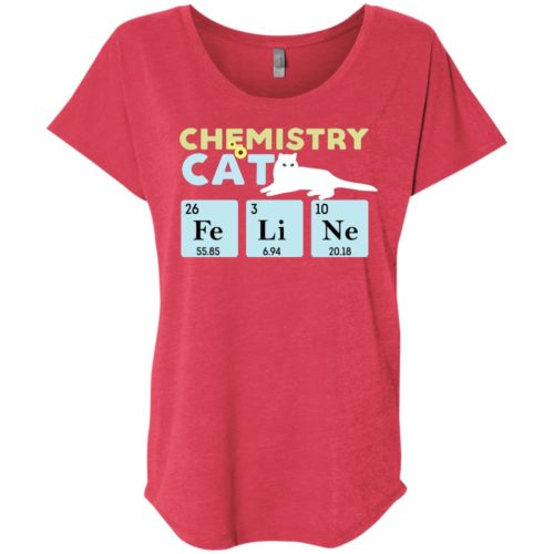 Chemistry Cat Slouchy Tee