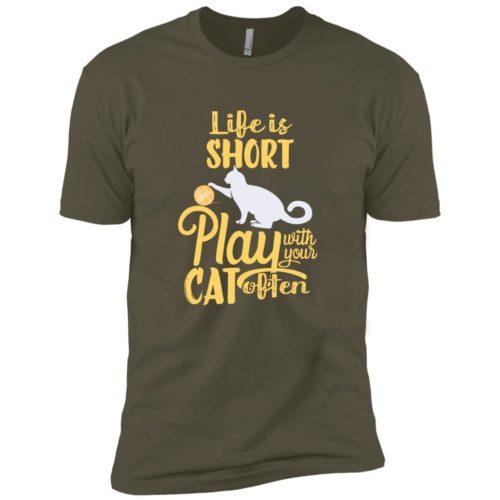 Life Is Short Premium Tee