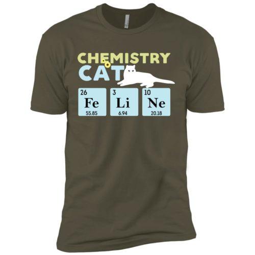 Chemistry Cat Premium Tee