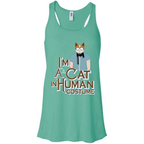 I'm A Cat In Human Costume Flowy Tank