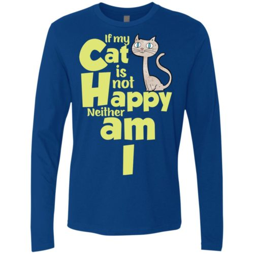 If My Cat Premium Long Sleeve Tee