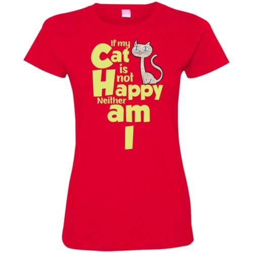 If My Cat Fitted Tee