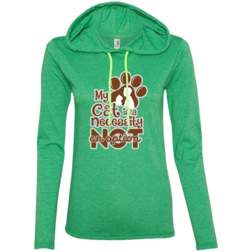 My Cat Is A Necessity Fitted T-Shirt Hoodie