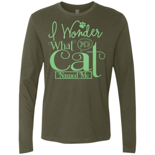 I Wonder Premium Long Sleeve Tee