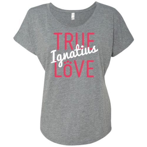 True Love Personalized Ladies' Slouchy T-Shirt