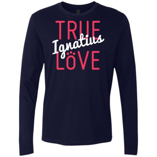 True Love Personalized Premium Long Sleeve Tee